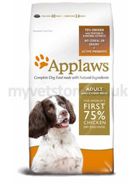 Applaws Adult Dog Small & Medium Breed with Chicken