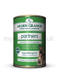 Arden Grange Partners Dog Lamb Rice & Vegetable